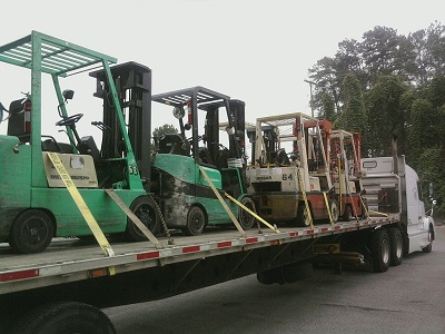Forklift Shipping Company